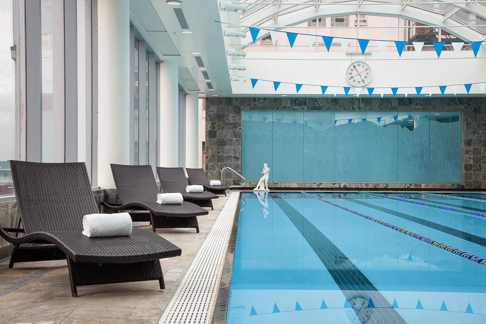 The Pool at Auberge Vancouver Hotel