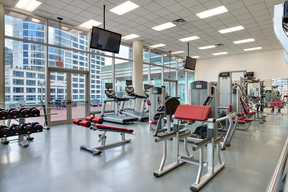 Fitness Centre at Auberge Vancouver Hotel