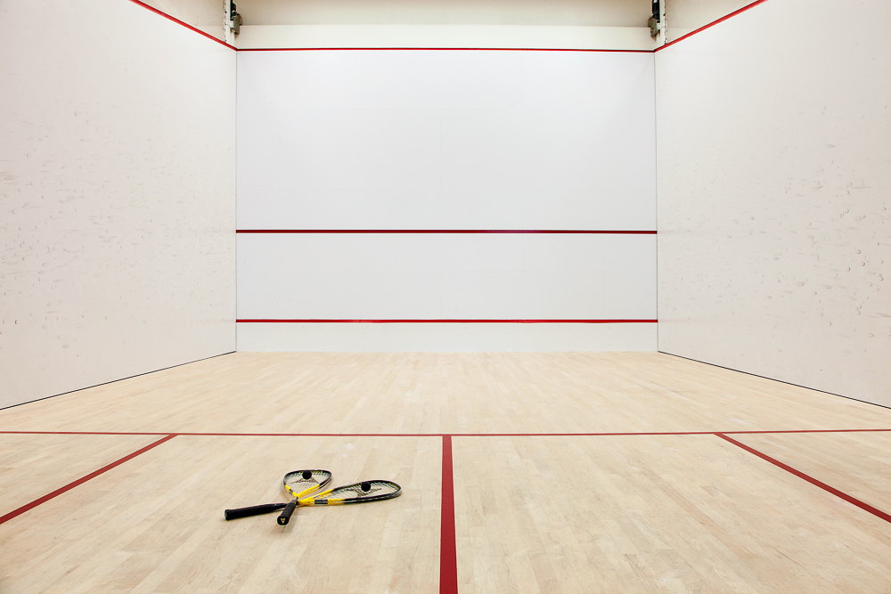 Squash Court at Auberge Vancouver Hotel