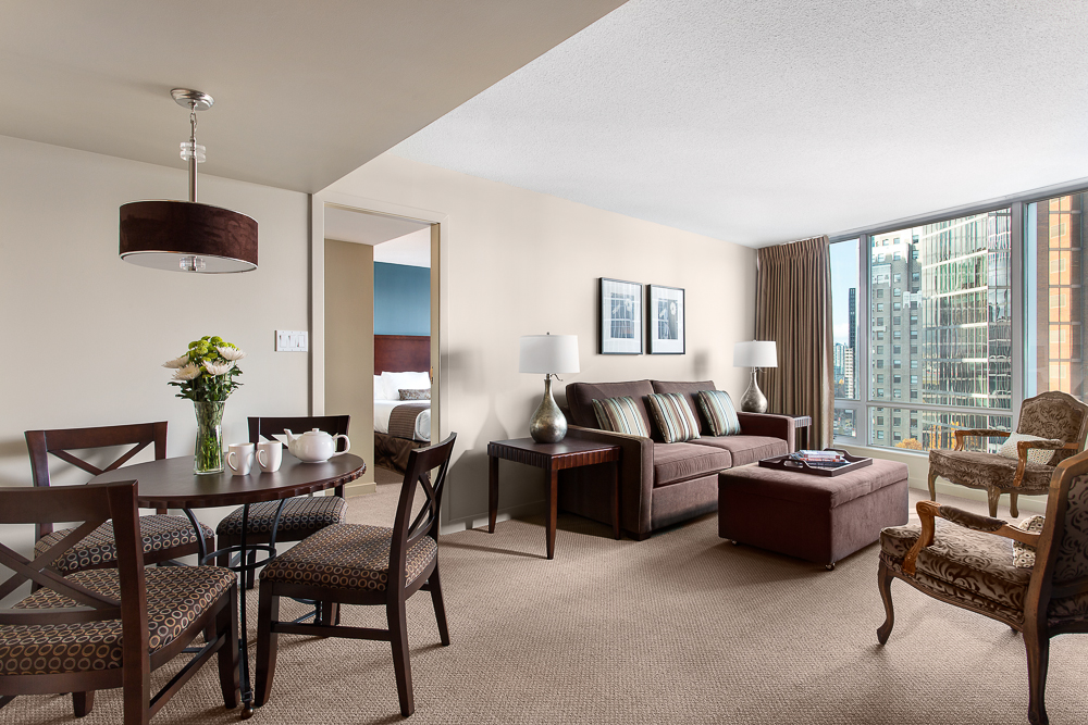 Suite at Auberge Vancouver Hotel