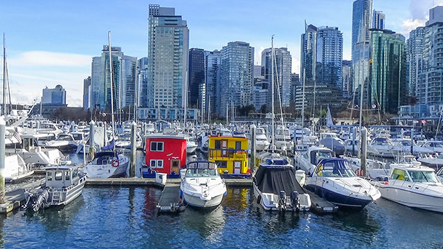 Coal Harbour Marina Houseboats